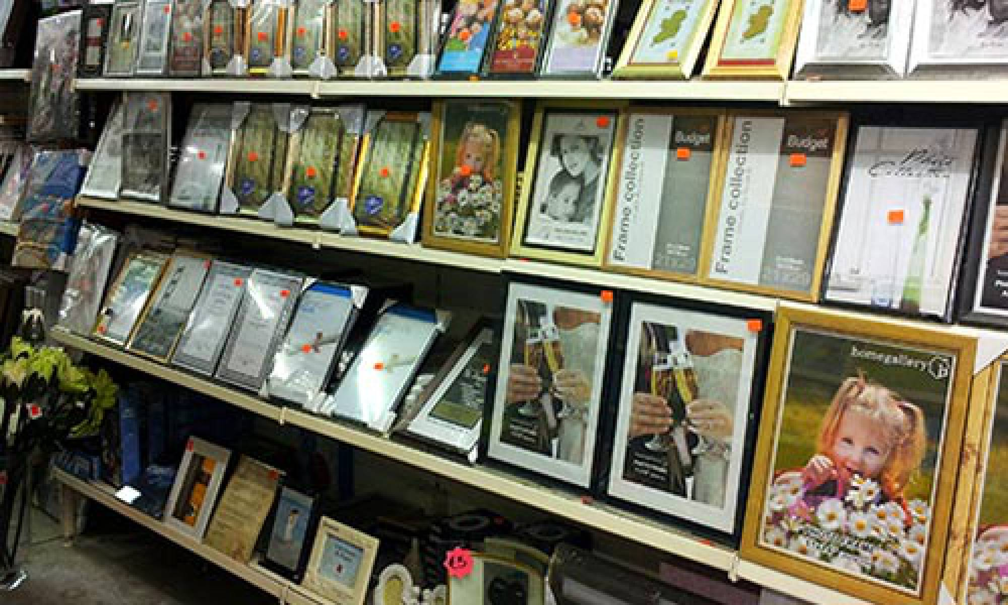 Picture frames, photo frames all sizes and finishes