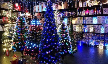 Fibre-optic Christmas Trees and Lights