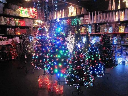 Fibre Optic Xmas Trees 3ft to 6ft