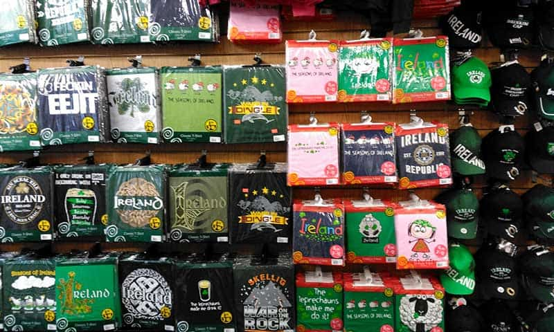 Adults and Childrens Irish tee-shirts, baseball caps