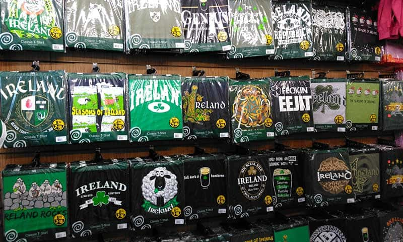 Adults t-shirts from Ireland, Celtic and funny, small to extra large sizes