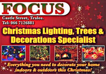 Focus Tralee - Christmas Lights, Trees and Decorations Specialists